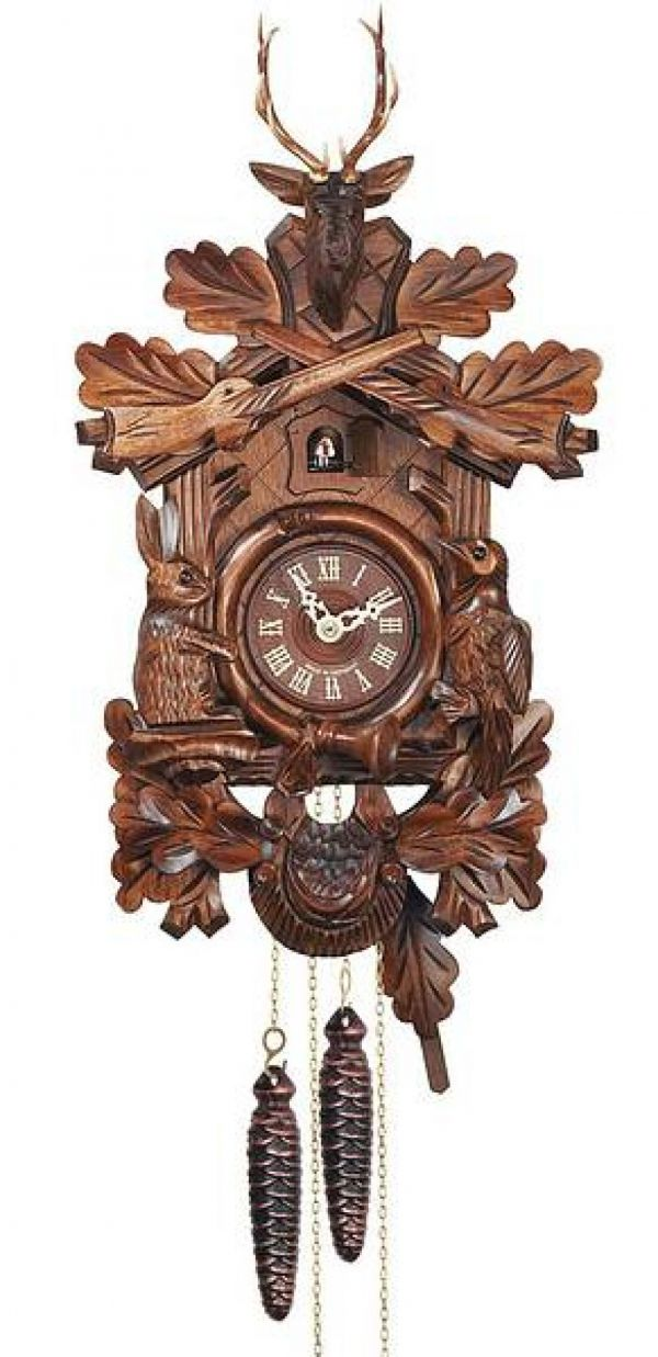 Hones 'Before the Hunt' 134/2nu cuckoo clock