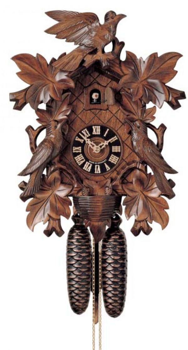 Hones traditional carved 823/4nu cuckoo clock ? no stock just now.