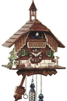 Engstler 429 Black Forest chalet style cuckoo clock