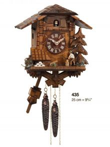 Engstler 435 sculpted BFH wood chopper drinker cuckoo clock
