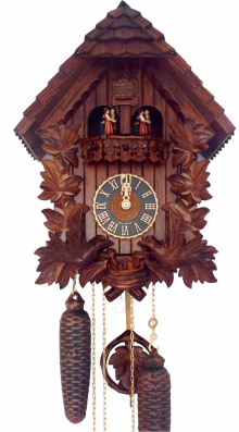 Hones 8 Day Cuckoo Clock with Music 86442/4Tki