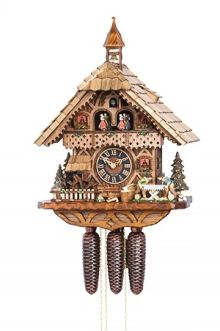 Hones 6258T musical cuckoo clock