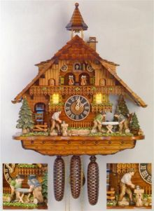 Hones 86275T Eight Day Cuckoo Clock