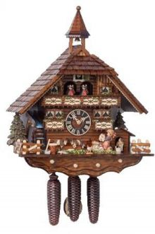 Hones 86742T Eight Day Cuckoo Clock