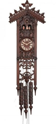 Robert Herr 8 Day Music Railway style Cuckoo Clock