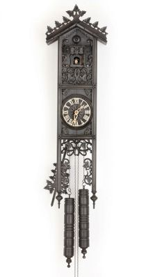 Robert Herr 8 Day Railway Cottage Cuckoo Clock