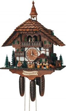 Schneider 8TMT 1565/9 Eight Day Black Forest House